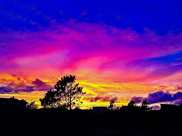 Photograph - Magical Obx Sunset by Chris Montcalmo