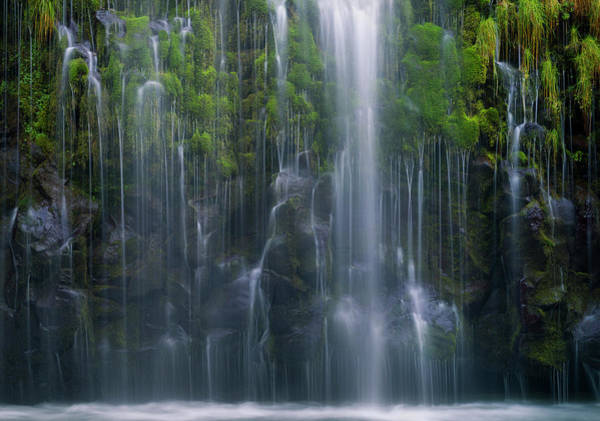 Water Fall Photograph - Magical Retreat by Gerald Macua