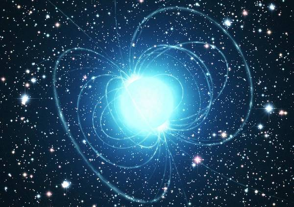 Impression Photograph - Magnetar Star by European Southern Observatory/science Photo Library