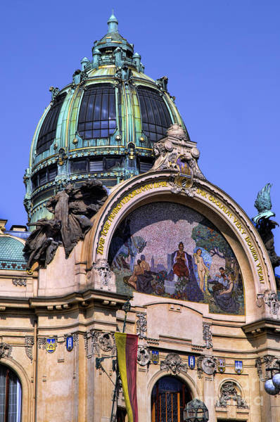 Photograph - Magnificent Dome In Prague by Brenda Kean