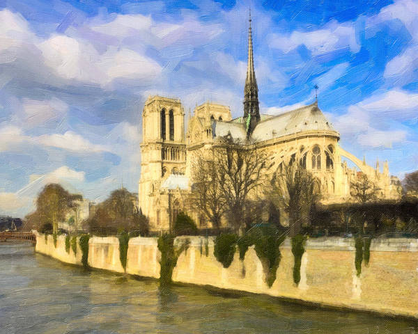 Photograph - Magnificent Notre Dame De Paris by Mark E Tisdale