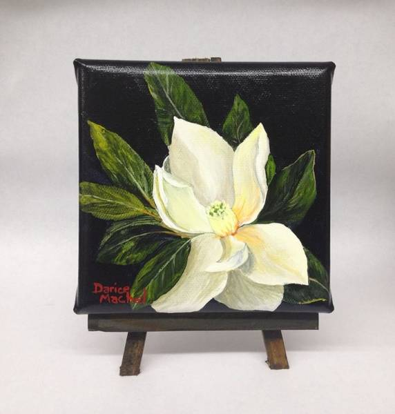 Painting - Magnolia Blossom  by Darice Machel McGuire