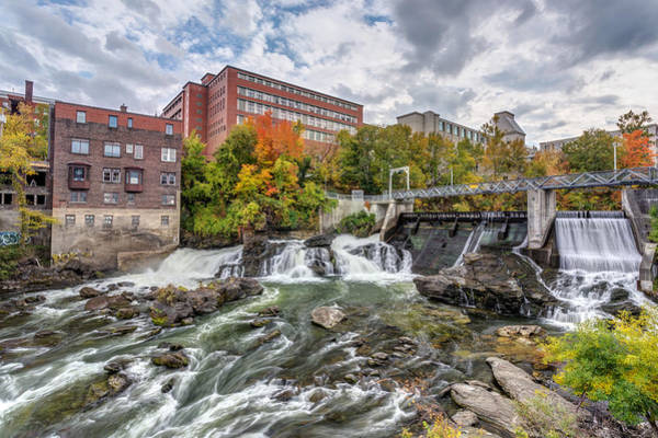 Photograph - Magog River Downtown Sherbrooke by Pierre Leclerc Photography