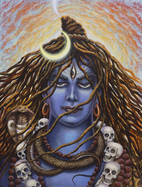 Wall Art - Painting - Mahadev by Vrindavan Das