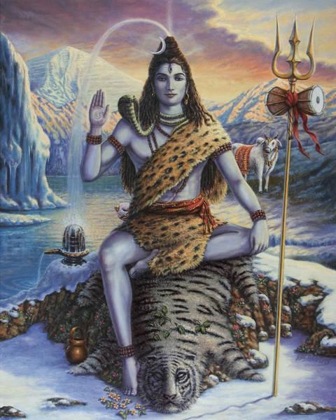 Painting - Mahadeva Shiva by Vishnudas Art