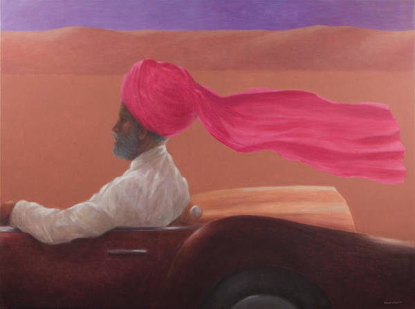 Headdress Photograph - Maharajah At Speed 2 by Lincoln Seligman