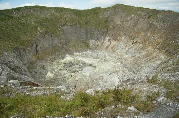 Volcanic Craters Photograph - Mahawu Volcano Crater by Matthew Oldfield/science Photo Library