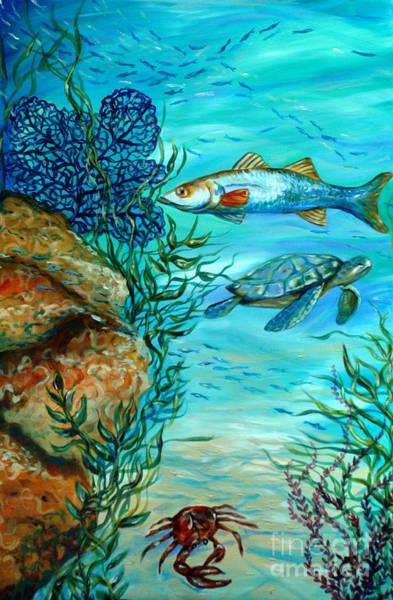 Maho Bay Center Art Print