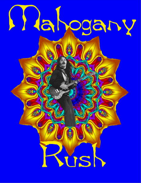 Mahogany Rush Art 1 Art Print