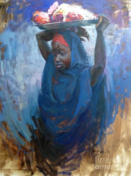 Nigeria Painting - Mai Talla by Dhlimi Munza