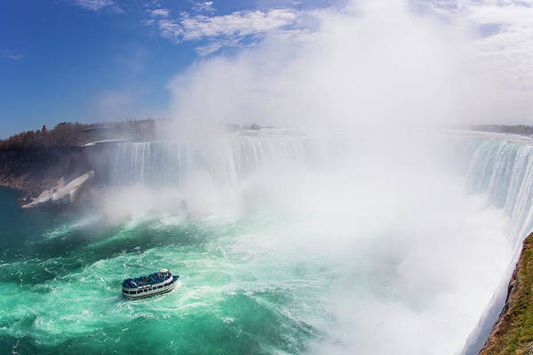 The Maid Photograph - Maid Of The Mist Boat Tours Taking by Mike Theiss