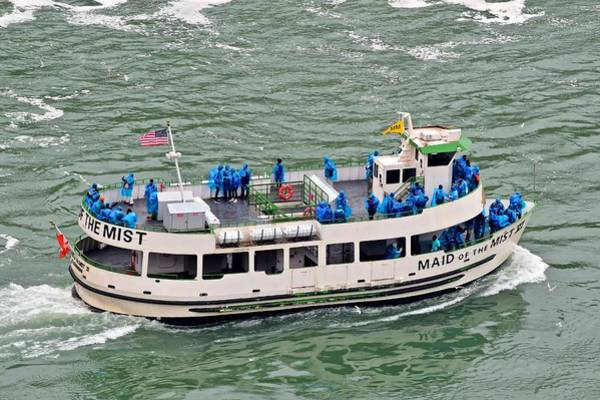 The Maid Photograph - Maid Of The Mist by Frozen in Time Fine Art Photography