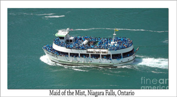 The Maid Photograph - Maid Of The Mist by Luther Fine Art