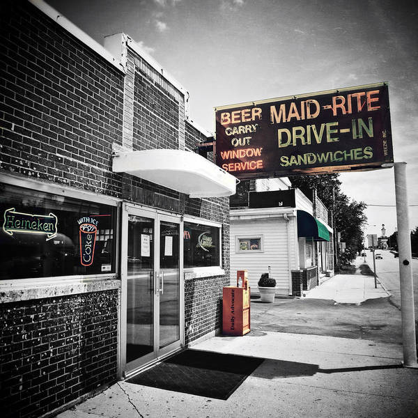 Photograph - Maid Rite Since 1926 by Natasha Marco