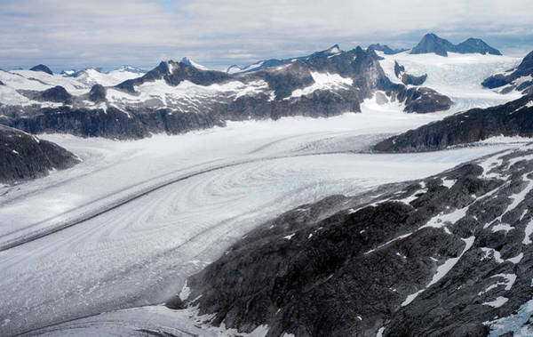 Juneau Photograph - Maidenhall Glacier by Steve Allen/science Photo Library