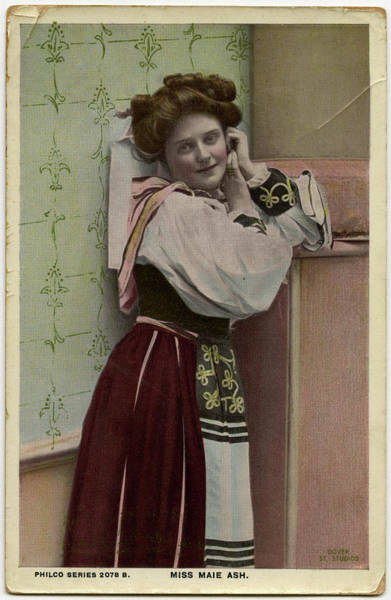 Wall Art - Photograph - Maie Ash (1888   1923), British Musical by Mary Evans Picture Library