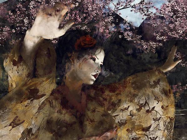 Digital Art - Maiko Dreams by Maynard Ellis