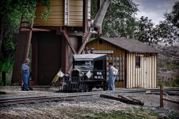 Wall Art - Photograph - Mail Delivery On The Rio Grande Southern by Ken Smith