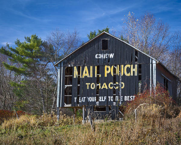 Photograph - Mail Pouch Barn by Jack R Perry