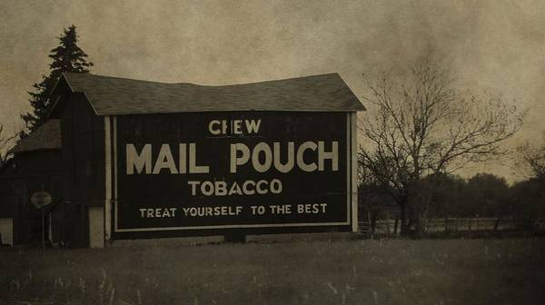 Photograph - Mail Pouch Tobacco Barn by Dan Sproul