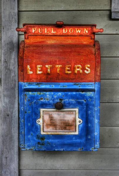 United States Postal Service Photograph - Mailman - Vintage Us Mailbox  by Lee Dos Santos