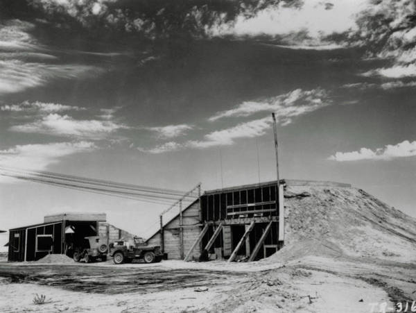 Nuclear Bomb Wall Art - Photograph - Main Control Bunker For The Trinity Test by Los Alamos National Laboratory/science Photo Library