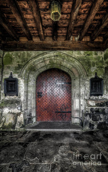 Hinges Photograph - Main Entrance by Adrian Evans
