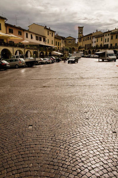 Parking Structure Photograph - Main Square Of Piazza Matteotti by Glenn Van Der Knijff