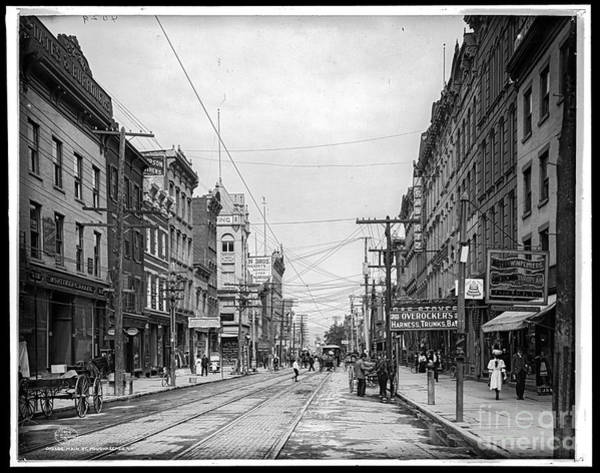 Photograph - Main St Poughkeepsie by Russell Brown