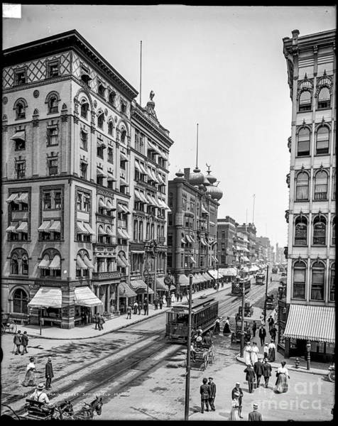 Photograph - Main Street Springfield by Russell Brown