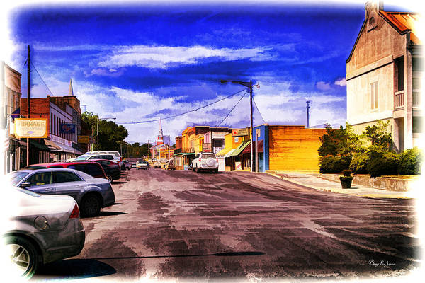 Photograph - Country Town - Main Street Usa by Barry Jones