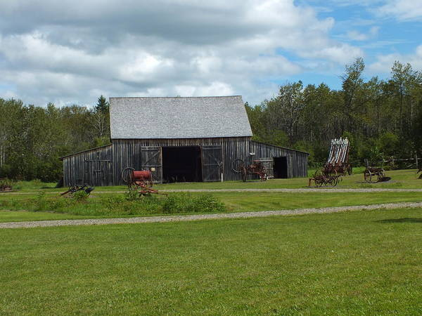 Aroostook County Photograph - Maine Acadian Village 1 by Gene Cyr