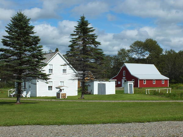 Aroostook County Photograph - Maine Acadian Village 4 by Gene Cyr