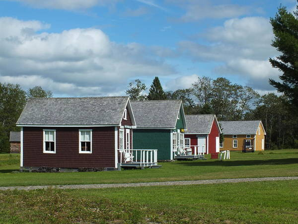 Aroostook County Photograph - Maine Acadian Village 5 by Gene Cyr