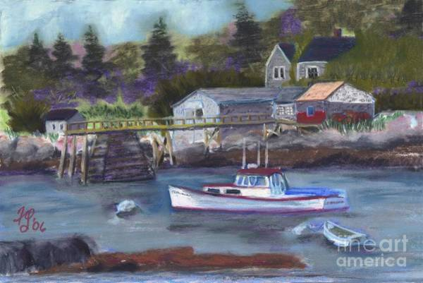 Pastel - Maine Livin' by Francois Lamothe