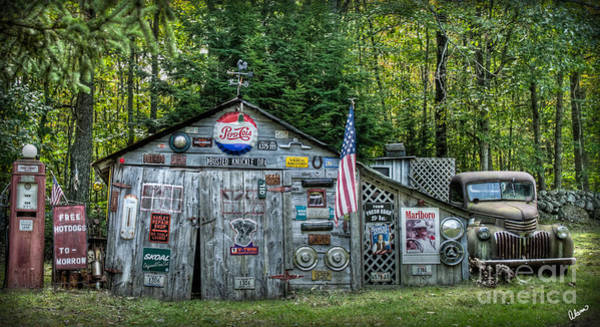 Photograph - Maine Shed by Alana Ranney
