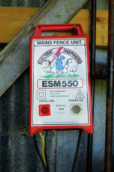 Unit Photograph - Mains Unit For An Electric Fence by Cordelia Molloy/science Photo Library