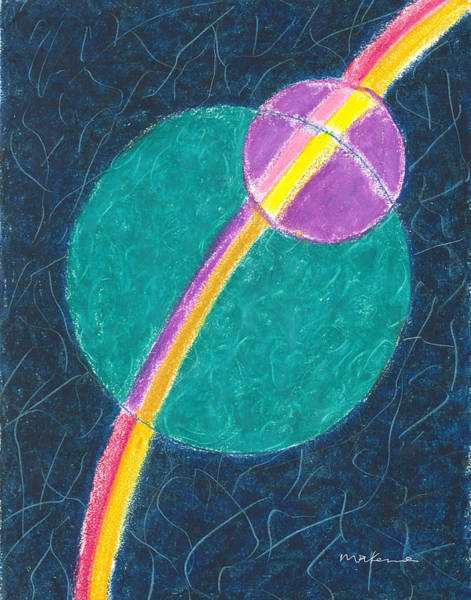 Painting - Maintaining Wholeness Within And Without by Carrie MaKenna