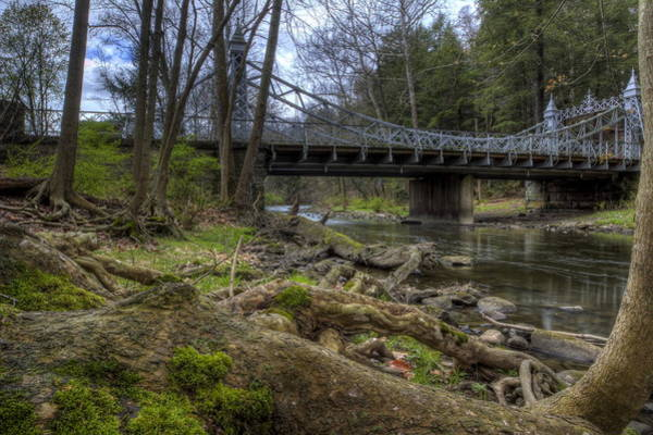 Photograph - Majestic Bridge In The Woods by David Dufresne