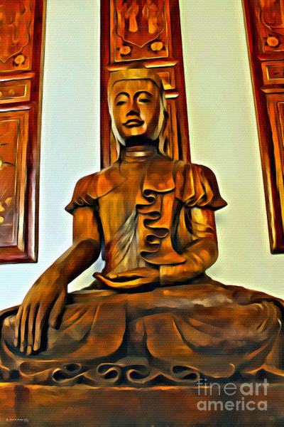 Photograph - Majestic Buddha by Beauty For God