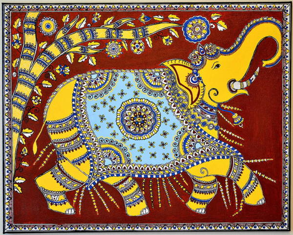 Wall Art - Painting - Majestic by Deepti Mittal