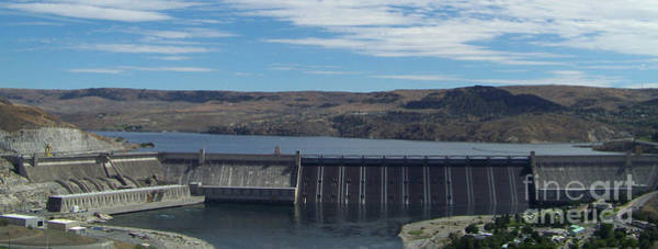 Photograph - Majestic Grand Coulee Dam by Charles Robinson