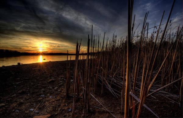 Photograph - Majestic Lake Sunset by David Dufresne