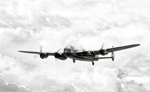 Avro Wall Art - Digital Art - Majestic Lanc by Peter Chilelli