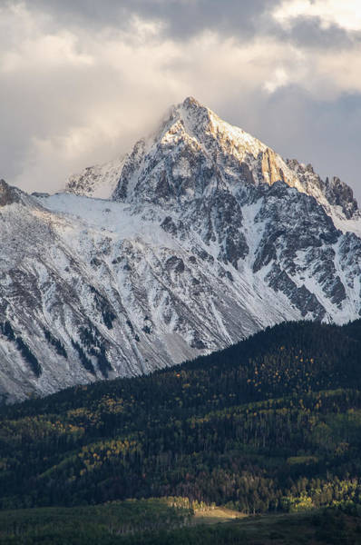 Majestic Light - Mt. Sneffels  Art Print
