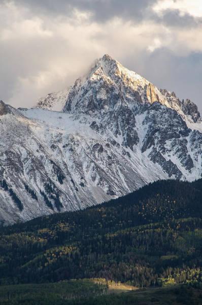 Fourteener Photograph - Majestic Light - Mt. Sneffels  by Aaron Spong