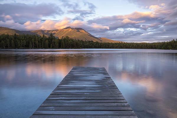 Baxter State Park Photograph - Majestic Mountain by Patrick Downey