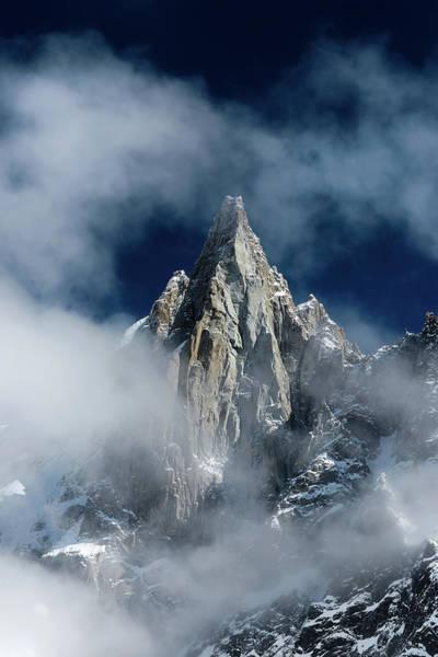 Chamonix Wall Art - Photograph - Majestic Mountain Peak by Alexsava