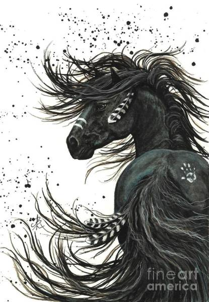 Animal Wall Art - Painting - Majestic Spirit Horse  by AmyLyn Bihrle