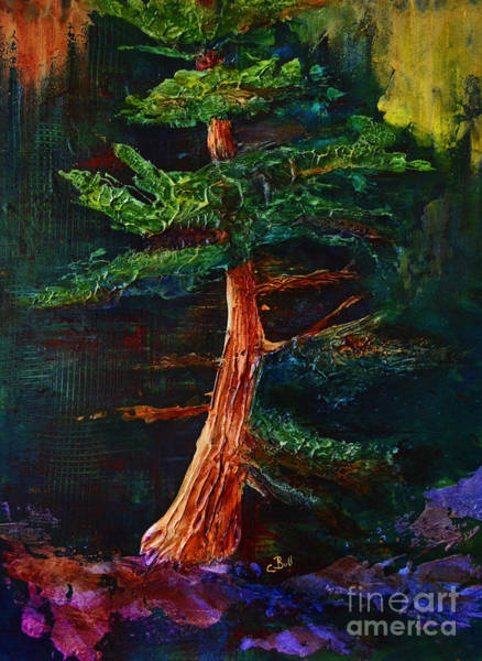 Painting - Majestic Pine by Claire Bull